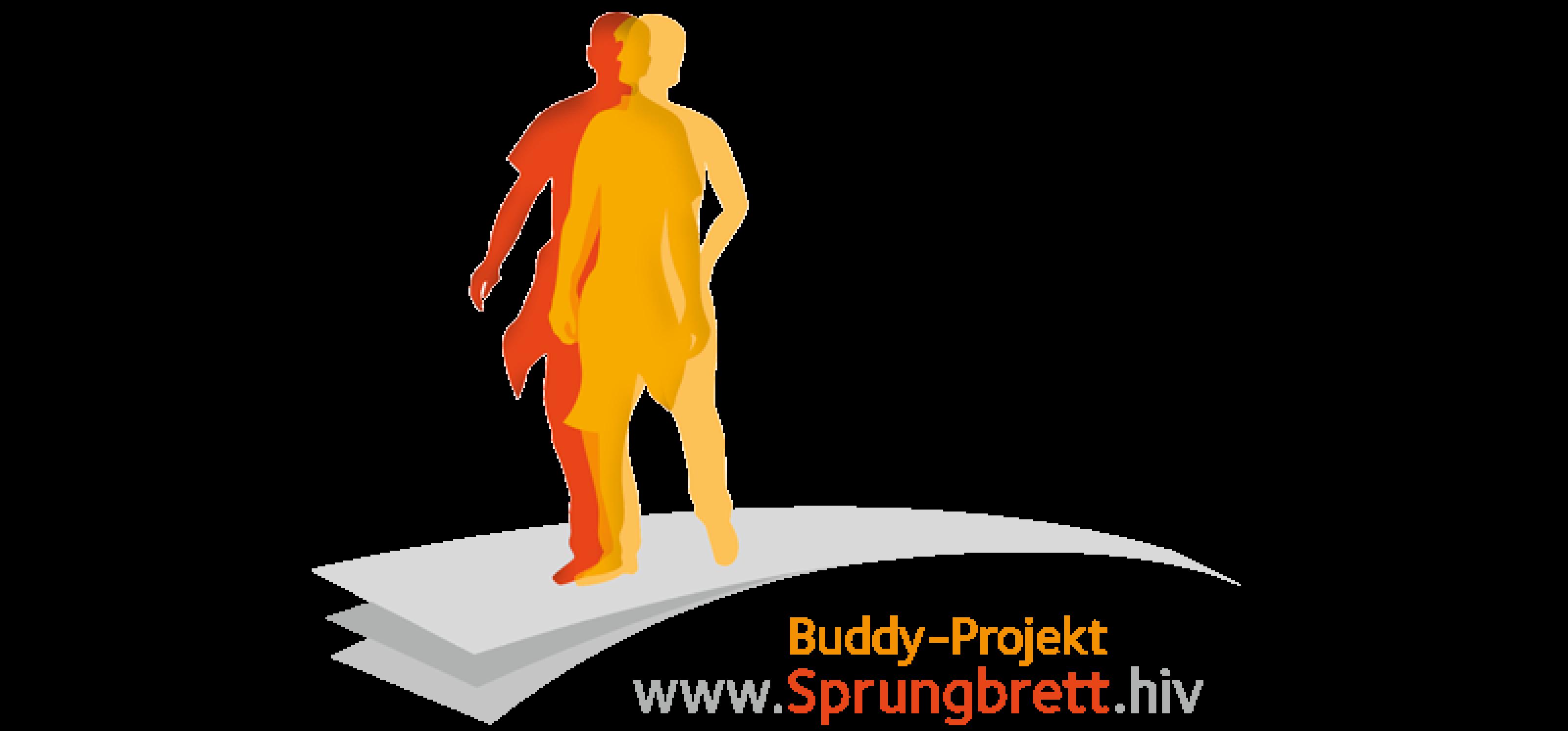 Zeichnung Mensch auf Sprungbrett