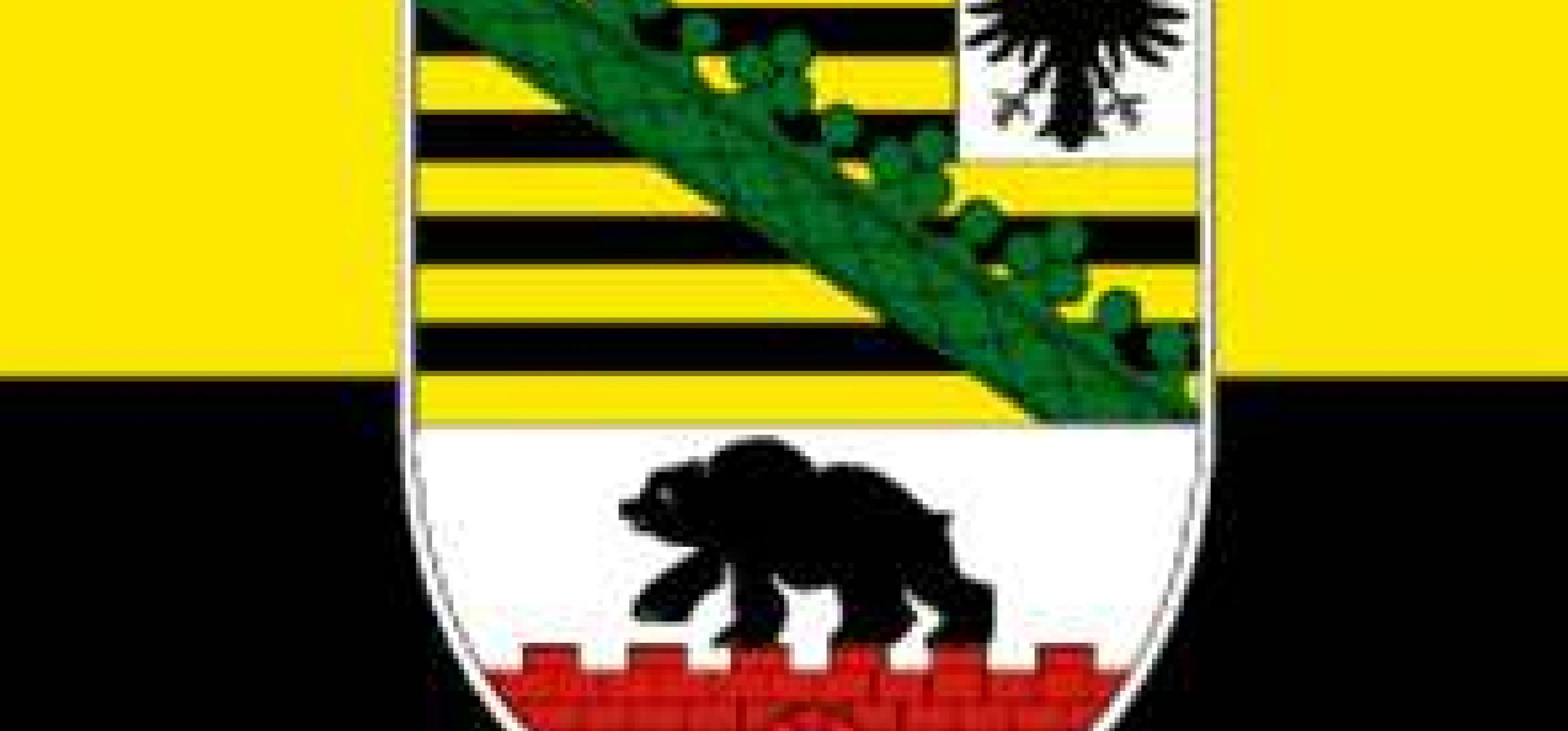 Das Wappen Sachsen-Anhalts