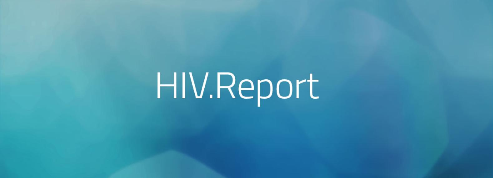 Logo HIV.Report