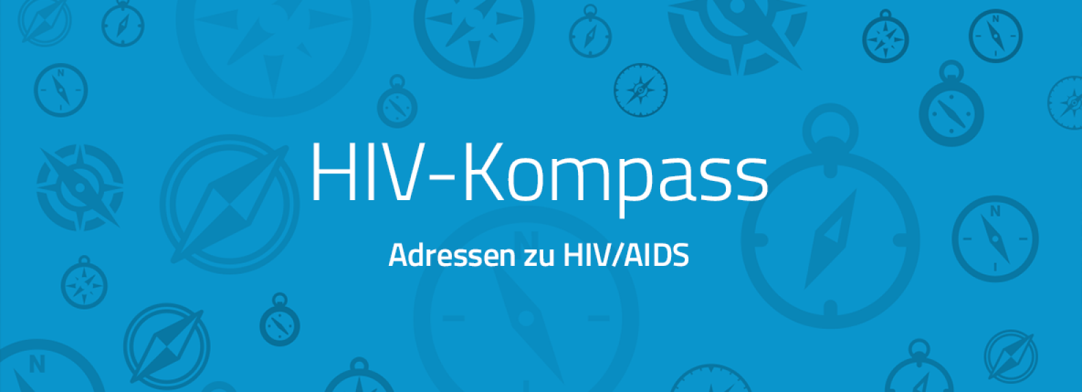 blaues Logo Kompass Webseite