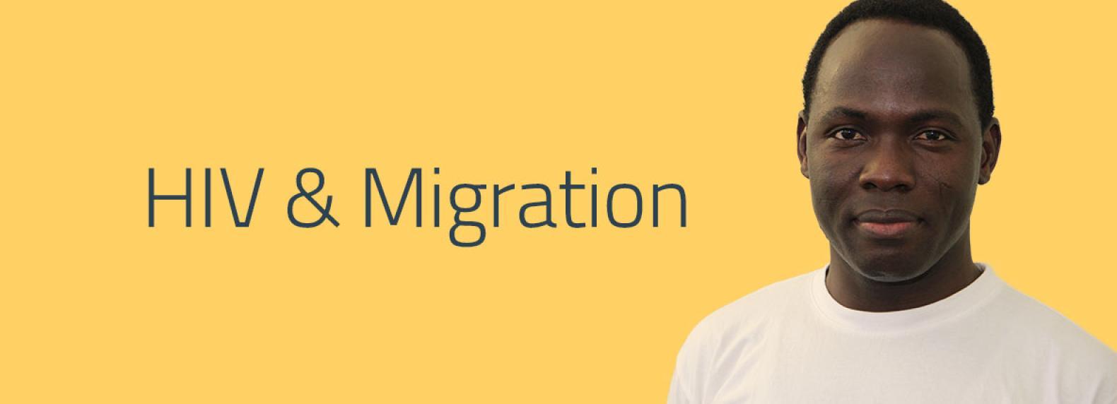 Logo HIV und Migration
